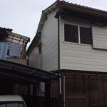 大阪府四条畷H邸外壁塗替え、雨樋交換工事。